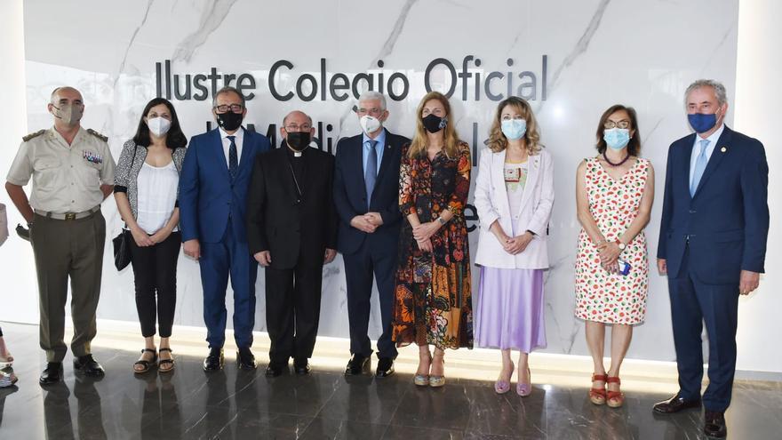 El Colegio de Médicos de Castellón estrena nueva sede reclamando recursos sanitarios