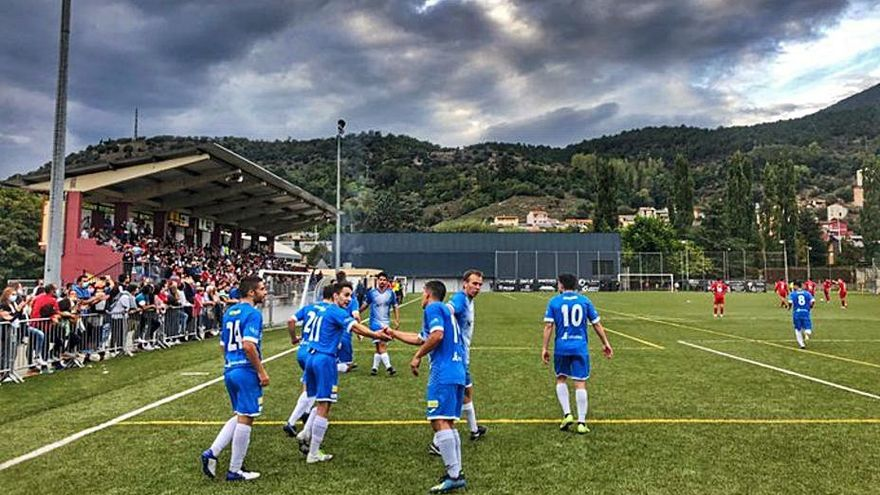 El FC la Seu d'Urgell guanya l'Organyà nou cursos després