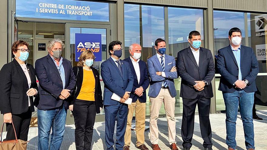 Inauguren un centre de formació de transportistes a Vilobí d'Onyar