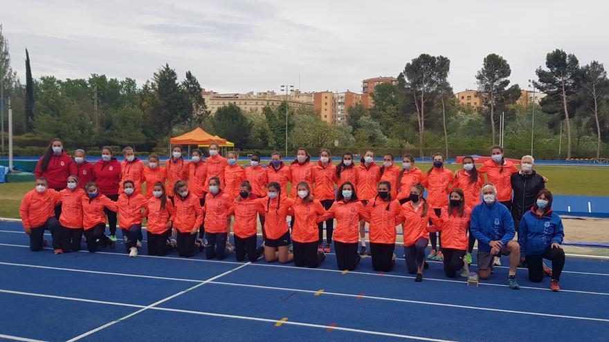 L'equip femení de l'Avinent Manresa lluita pel títol estatal de clubs aquest diumenge a La Nucia
