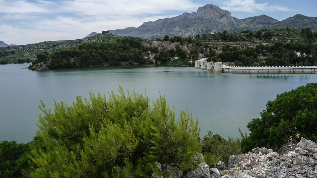 El pantano de Beniarrés