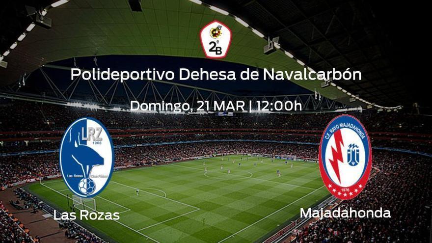 Previa del partido: el Rayo Majadahonda viaja al estadio de Las Rozas para concluir el campeonato
