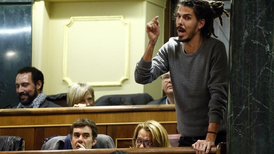 La fiscalía del Supremo pide medio año de cárcel para el diputado de Podemos Alberto Rodríguez