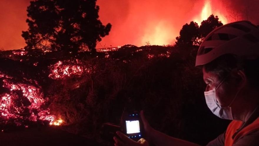 Las mejores imágenes de la erupción del volcán de La Palma