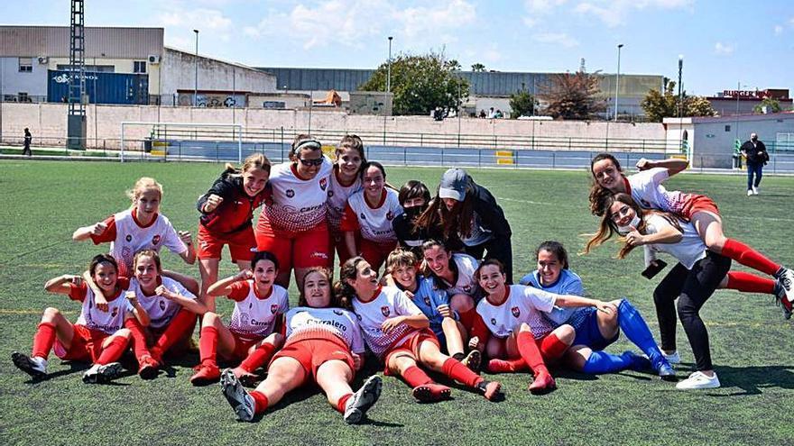 El Infantil Ciutat de Xàtiva, campeón de la primera fase de liga