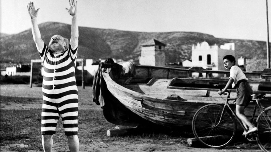 Calabuch de Berlanga, rodada en Peñíscola (1956)