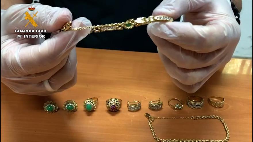 Hurto de joyas en Gran Canaria