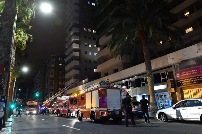 15-06-2018 LAS PALMAS DE GRAN CANARIA. Incendio ...