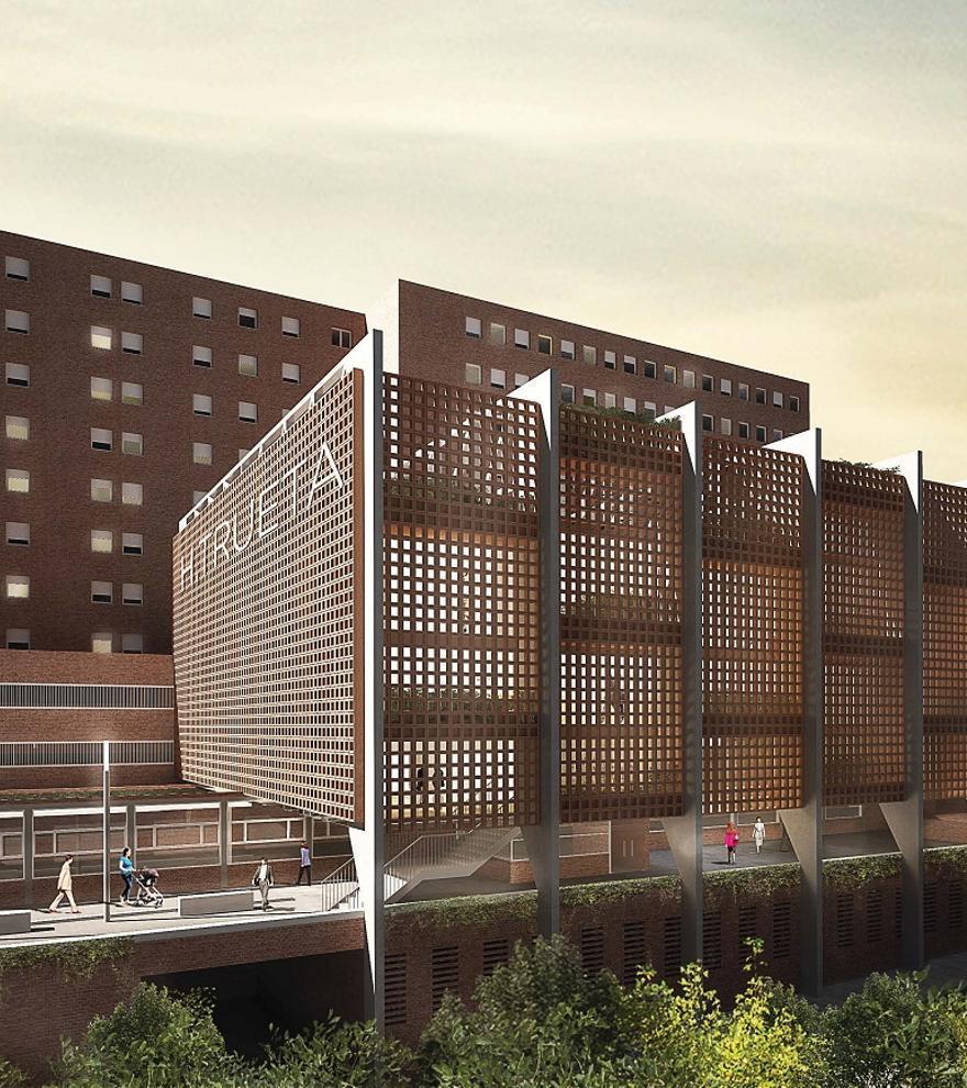 El Trueta connectarà directament amb el Santa Caterina i tindrà una extensió d'uns 100.000 m2