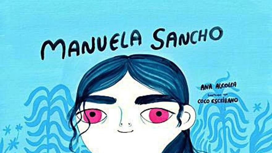Manuela Sancho inspira el primer libro de 'Zaurines'