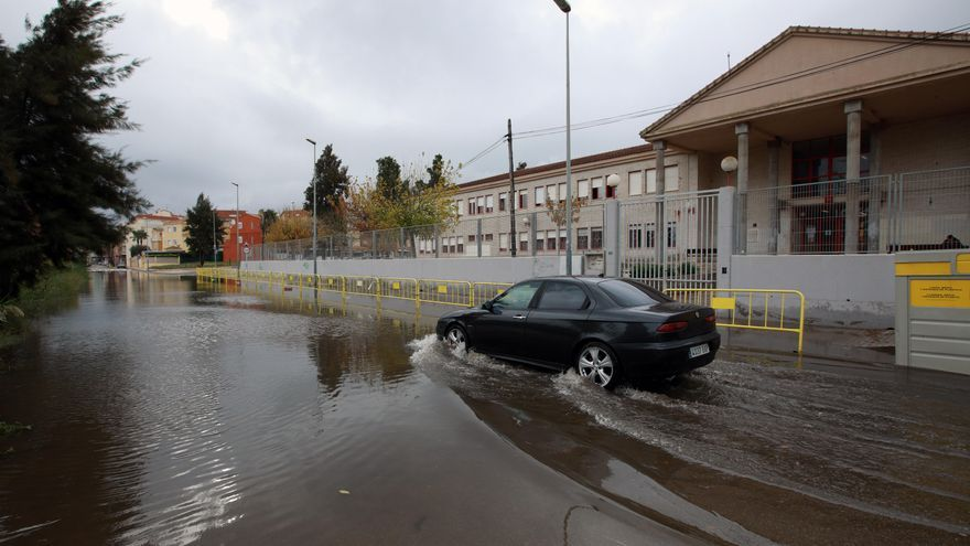 Una DANA amenaza el norte de la provincia de Alicante con granizo y fuertes lluvias