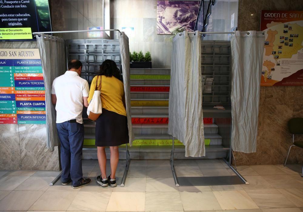 Votaciones elecciones 26M