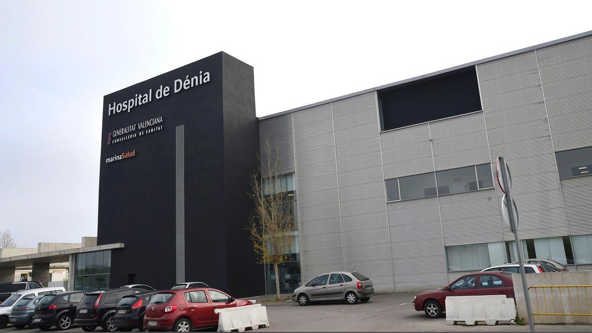 El hospital comarcal de Marina Salud en Dénia