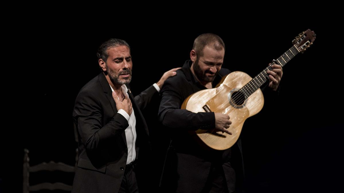 Pedro El Granaíno con Patrocinio hijo.