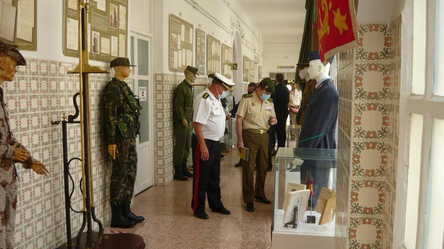 Exposición sobre los quintos y el reclutamiento en la Subdelegación de Defensa