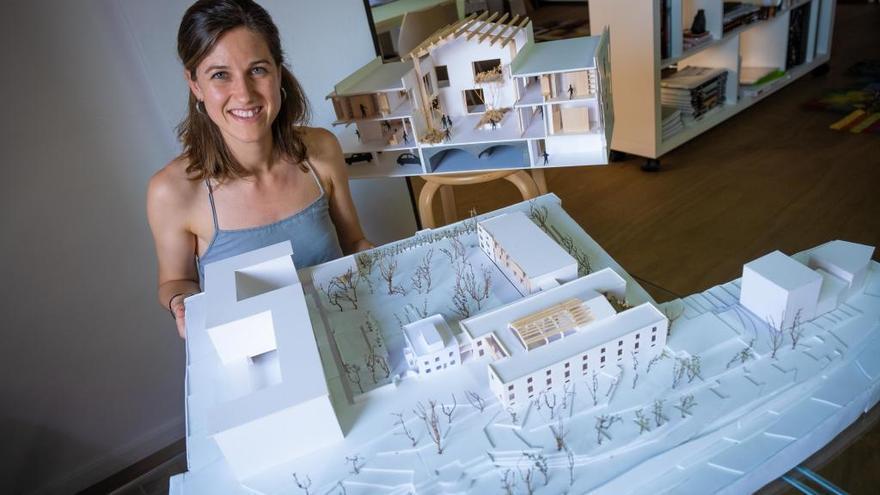 Sara Palmada rep un premi per un projecte de rehabilitació de l'antiga fàbrica Koëpke