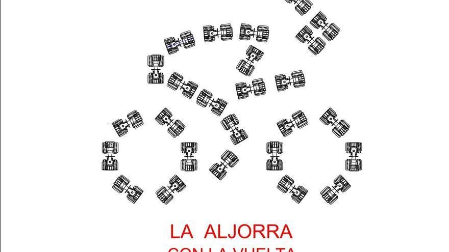 La Aljorra recibirá a La Vuelta con un mosaico de una treintena de tractores