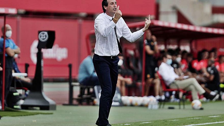 Emery: «El Mallorca demuestra que valora mucho estar en Primera»