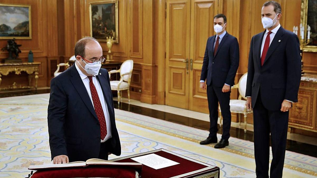 Iceta: «Vull una Espanya forta en la unitat i orgullosa de la seva diversitat»