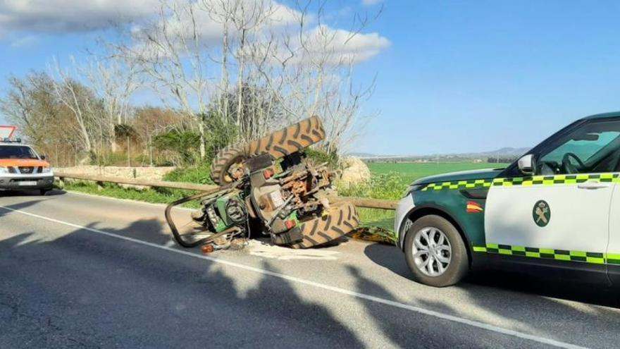 80-Jähriger stirbt bei Traktorunfall auf Mallorca