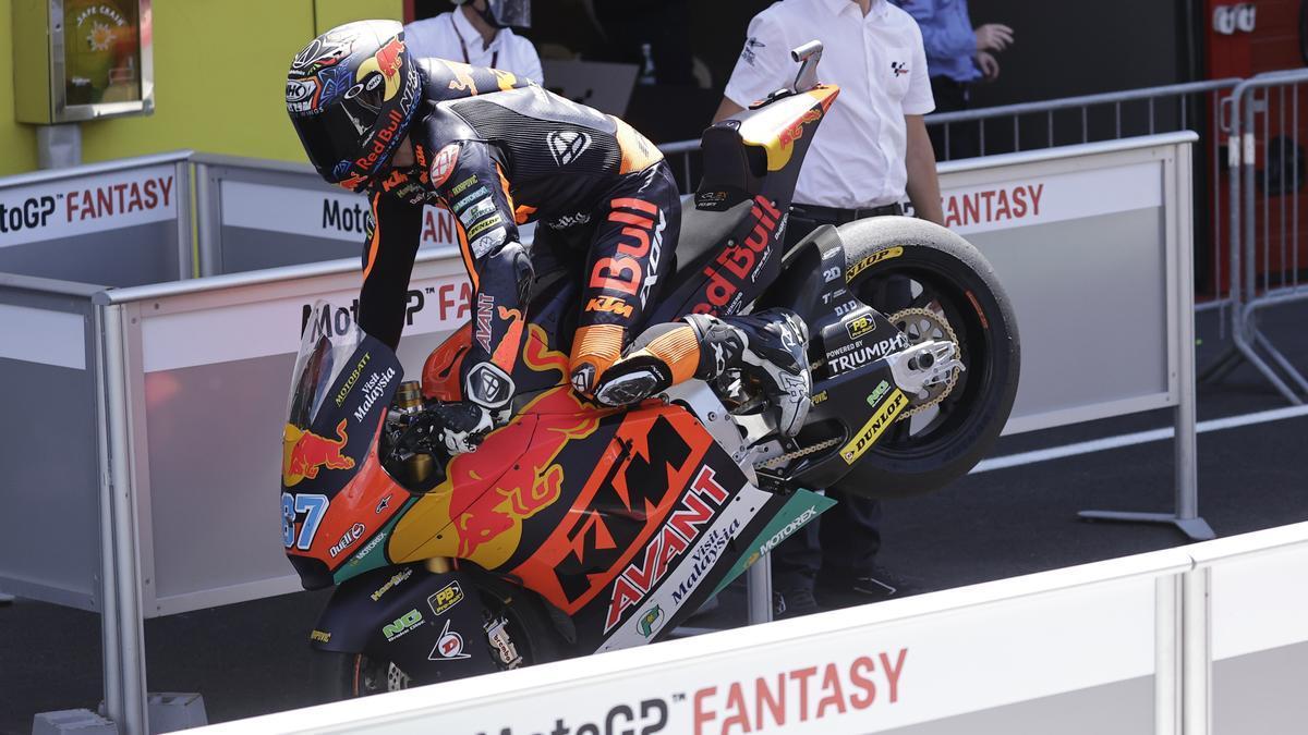Remy Gardner, ganador de Moto2 2021 en el Gran Premio de Italia