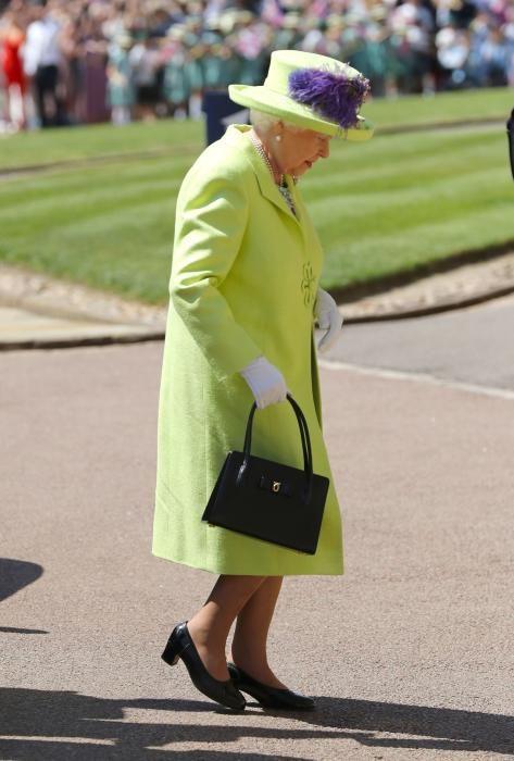 La reina Isabel II. / AFP PHOTO / POOL / Gareth Fuller