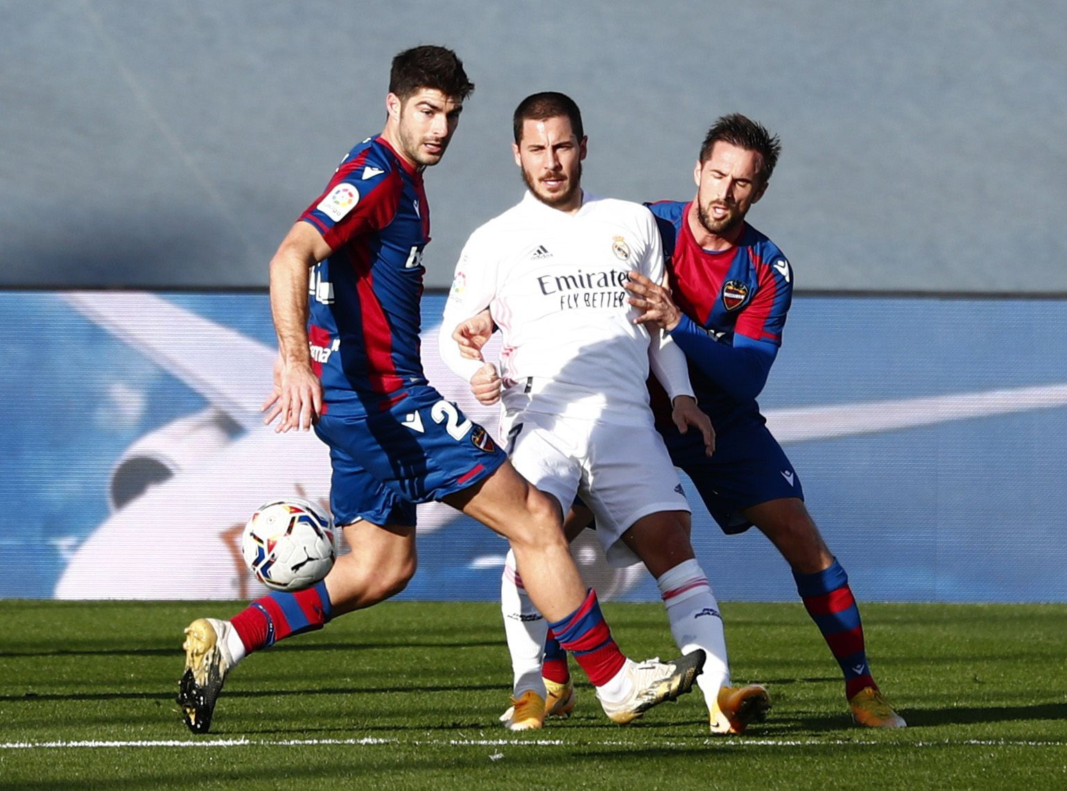 Las fotos de la victoria del Levante frente al Real Madrid