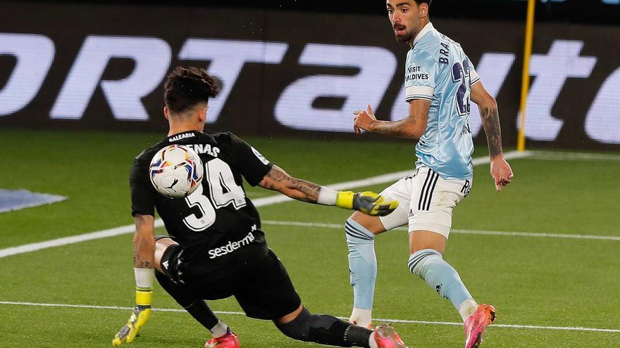Las mejores imágenes del partido de la liga  Celta - Levante