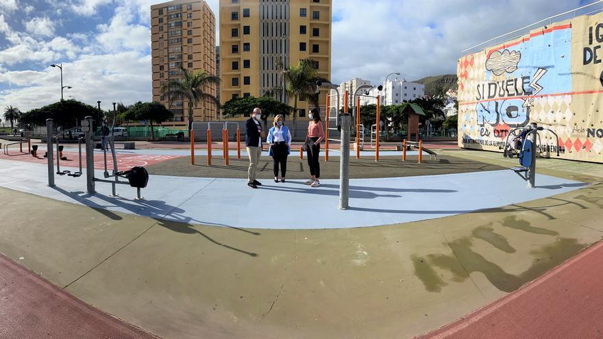 Finaliza la renovación integral del parque biosaludable de la Vega de San José