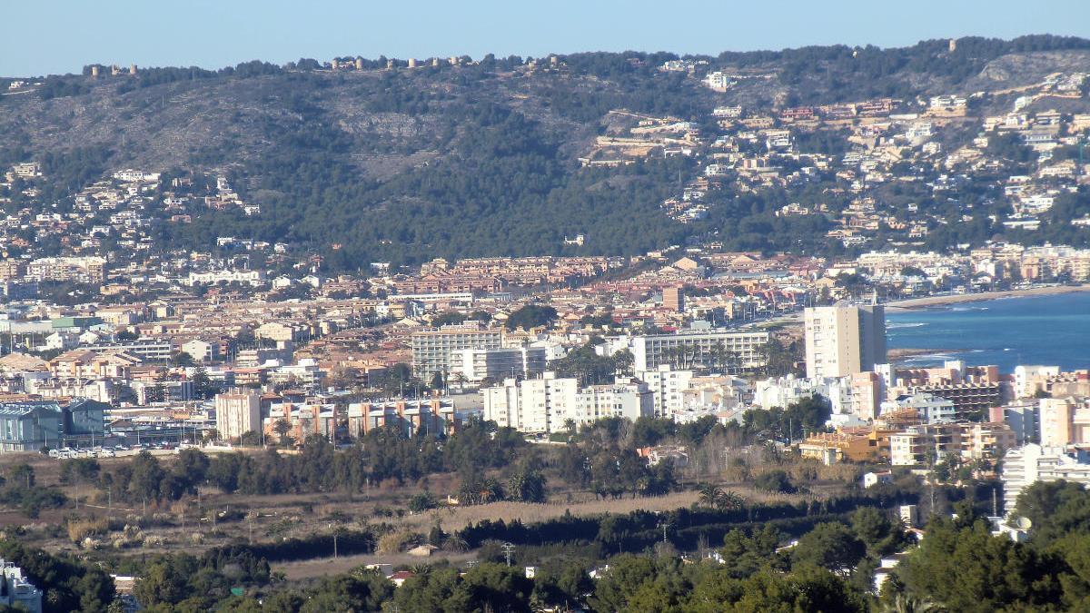 Vista panorámica de Xàbia.