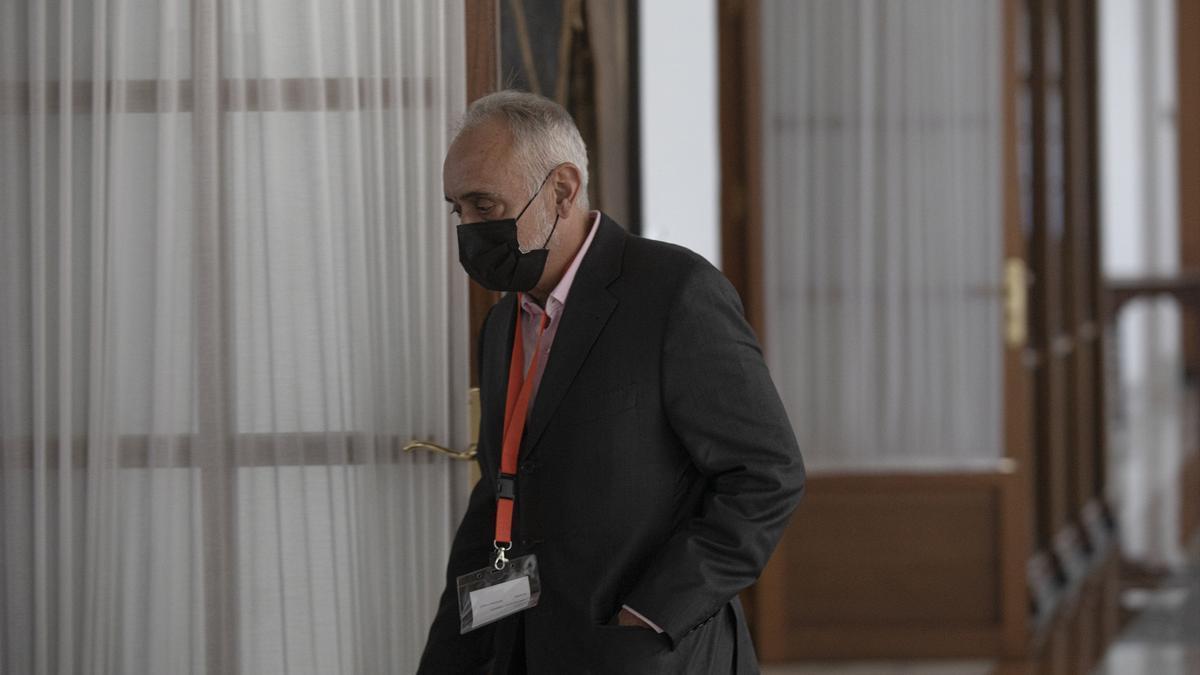 El exdirector de la Fundación Andaluza Fondo de Formación y Empleo (Faffe) Fernando Villén.