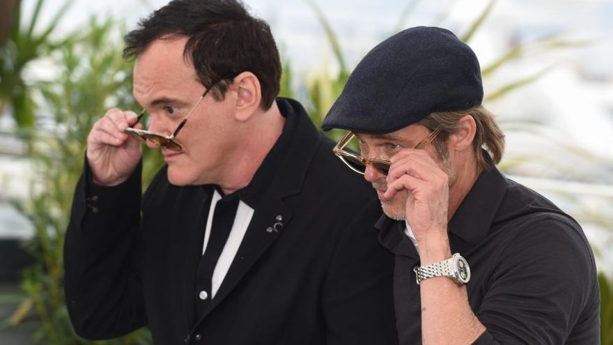 Las imágenes de Brad Pitt y Leonardo DiCaprio en Cannes