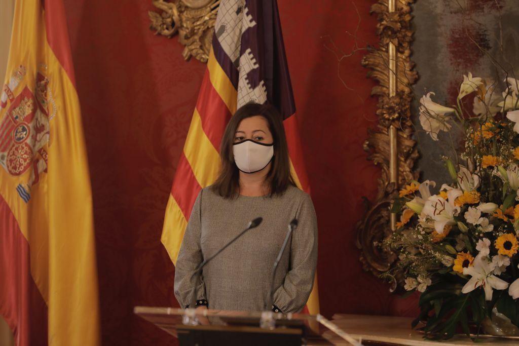 """Thomàs reivindica el papel del Estatuto de Autonomía como """"arma contra la pandemia"""" en el Día de Baleares"""
