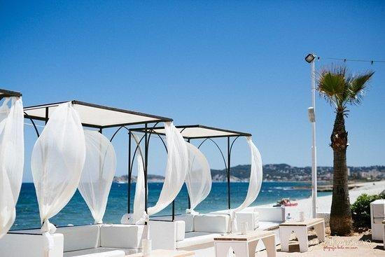 Así era y así se encuentra el local de playa de moda en Xàbia