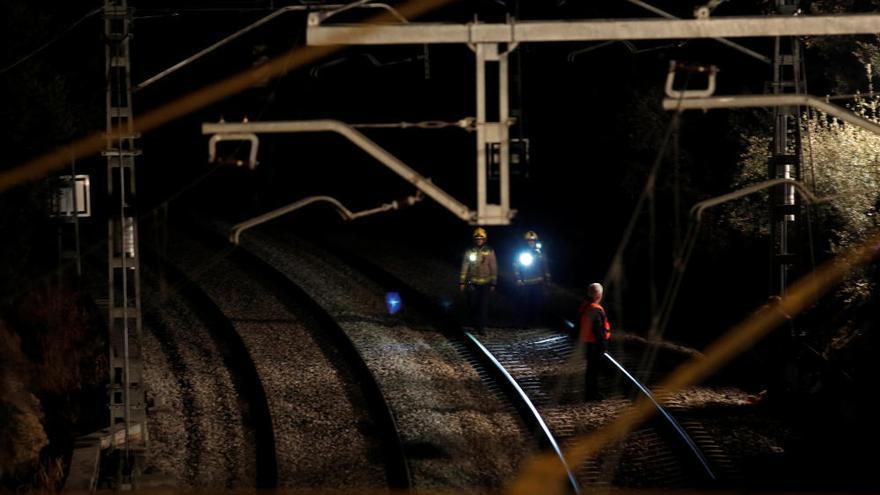 Accidente ferroviario de dos trenes de Cercanías en Barcelona