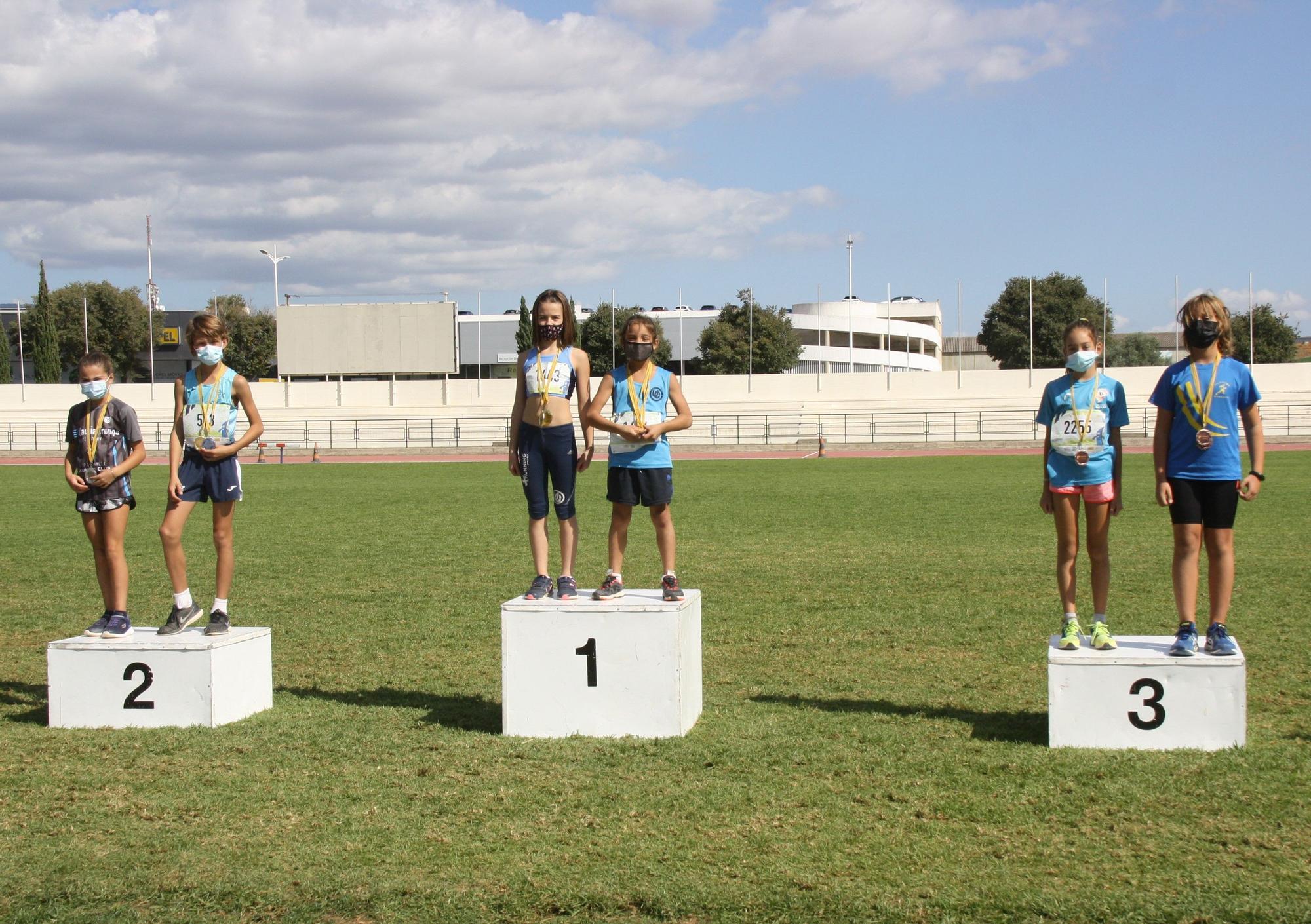 Final de atletismo en pista de la comarca de Part Forana