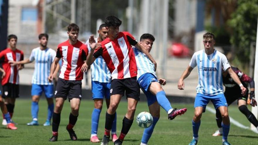 El Málaga CF juvenil da un primer zarpazo ante el Athletic (2-0)