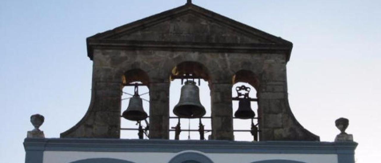 Imagen de las campanas de la iglesia de San Mateo.