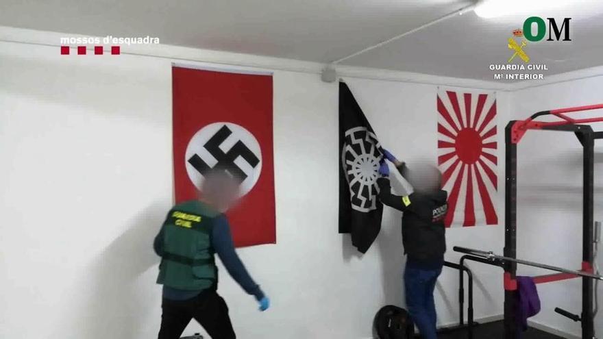 Detenido en Ronda por tenencia de armas y enaltecimiento del terrorismo racista