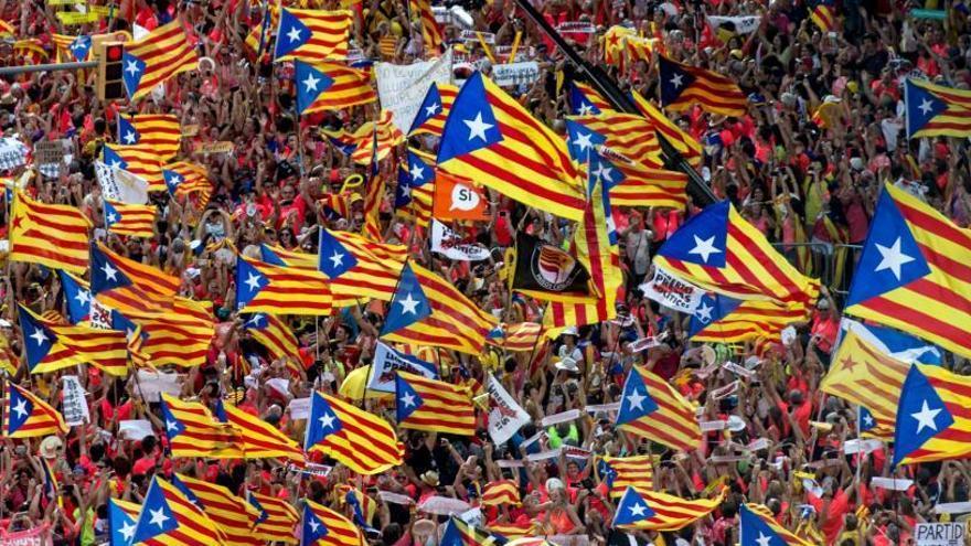 Diada 2019: Horari i recorregut de la manifestació de l'11 de setembre a Barcelona