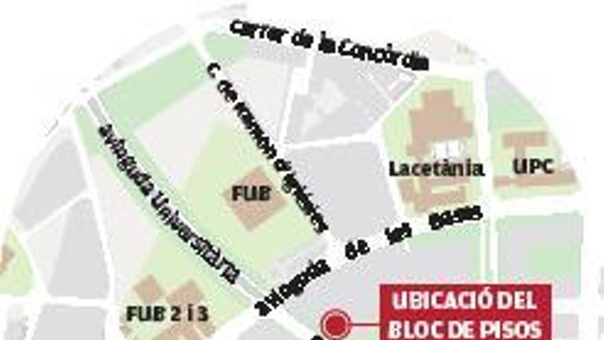 Una sola propietària viu en un bloc amb vint-i-quatre pisos ocupats a Manresa