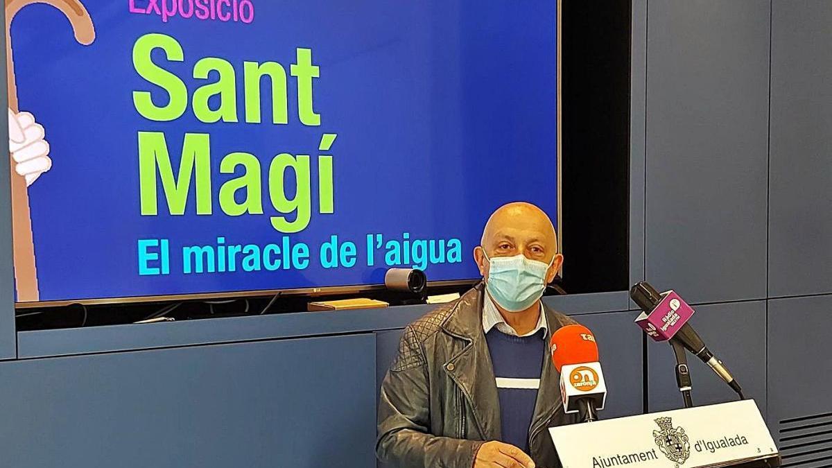 Presentació de l'exposició a càrrec de l'Ajuntament d'Igualada