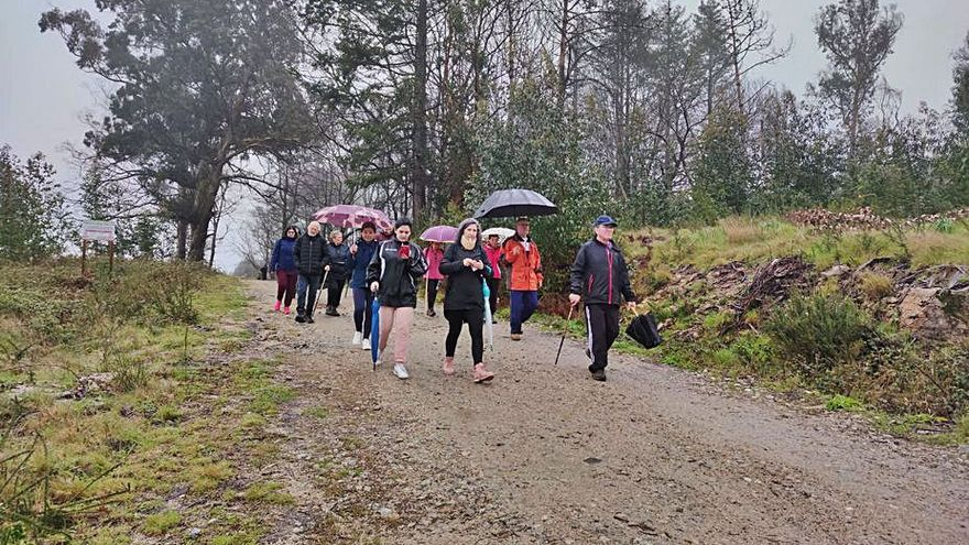 'Igualando', segunda caminata reivindicativa de Ponte Caldelas