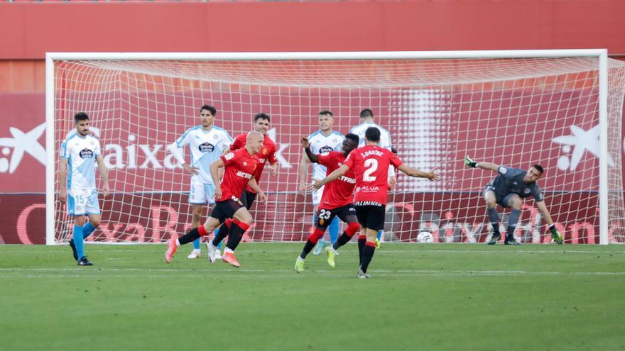 Vea aquí los goles y el resumen de la victoria del Mallorca ante el Lugo (2-0)
