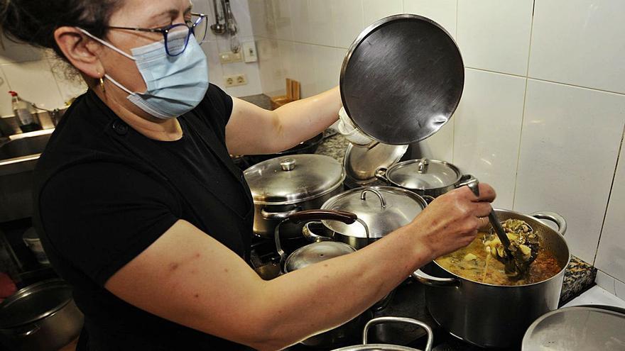 Los restaurantes lalinenses rozarán el lleno para el fin de semana de la Feira do Cocido