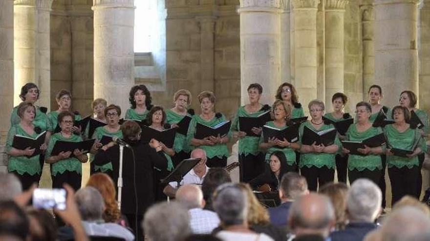 Voces angelicales en Carboeiro y música de raíz en la Semana Verde
