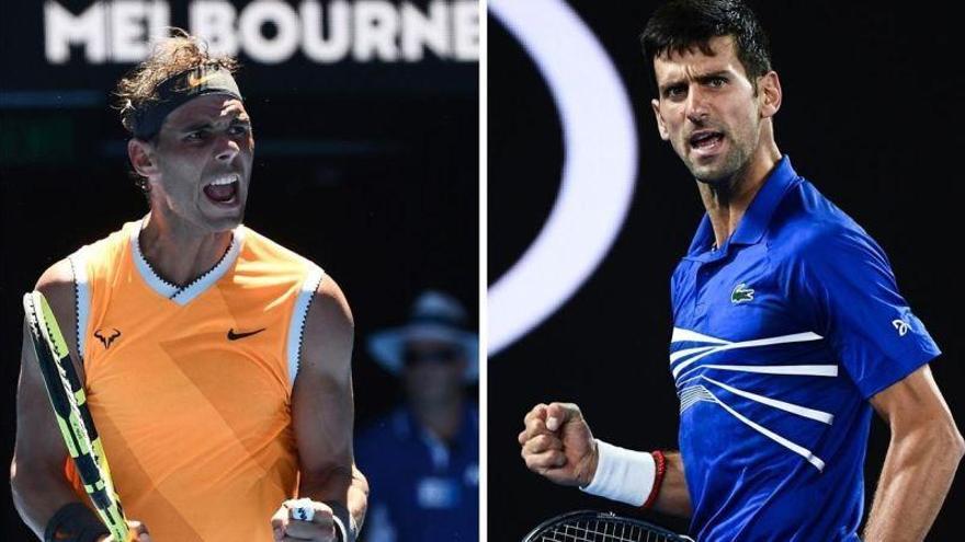 Nadal-Djokovic, un clásico que decidirá el rey de Australia