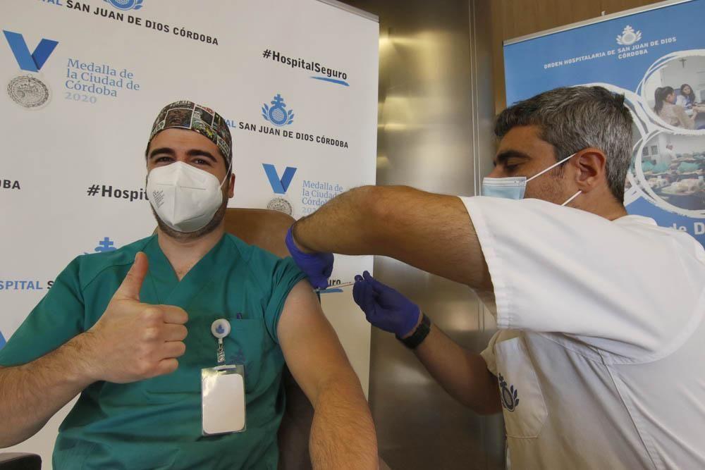 Vacunación de los sanitarios de los hospitales privados