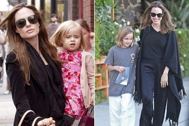 Vivienne, una de las hijas biológicas de Angelina Jolie y Brad Pitt.