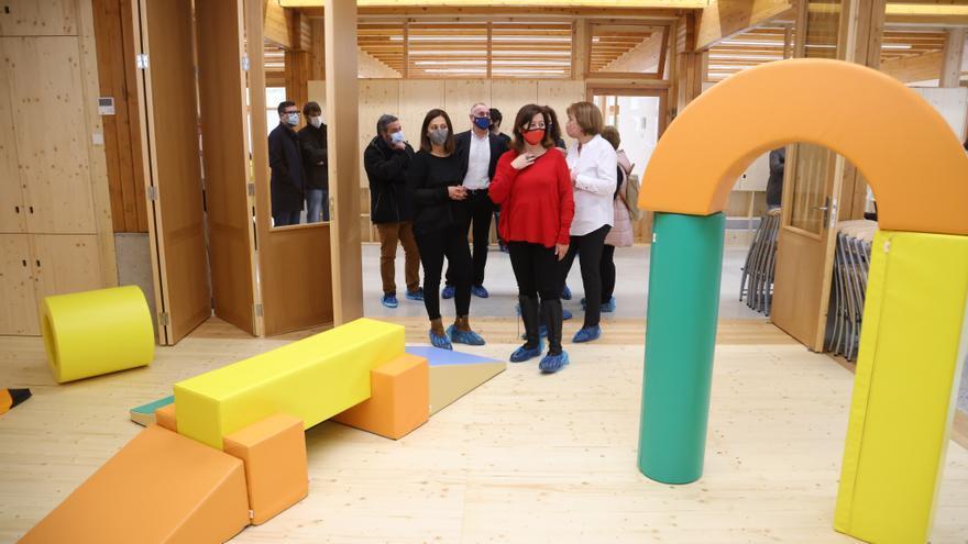 Inauguran la nueva escuela infantil de Llubí, para cuatro grupos y 55 plazas
